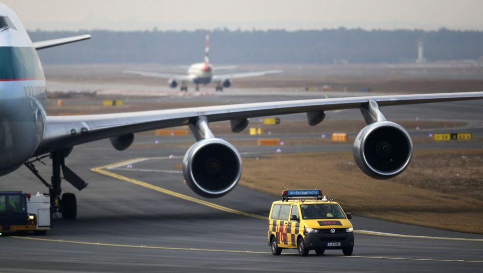 Angebot von Fraport: Gewerkschaft beendet Streik am Frankfurter Flughafen
