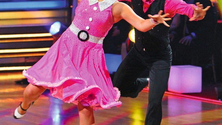 Bristol Palin mit Tanzpartner