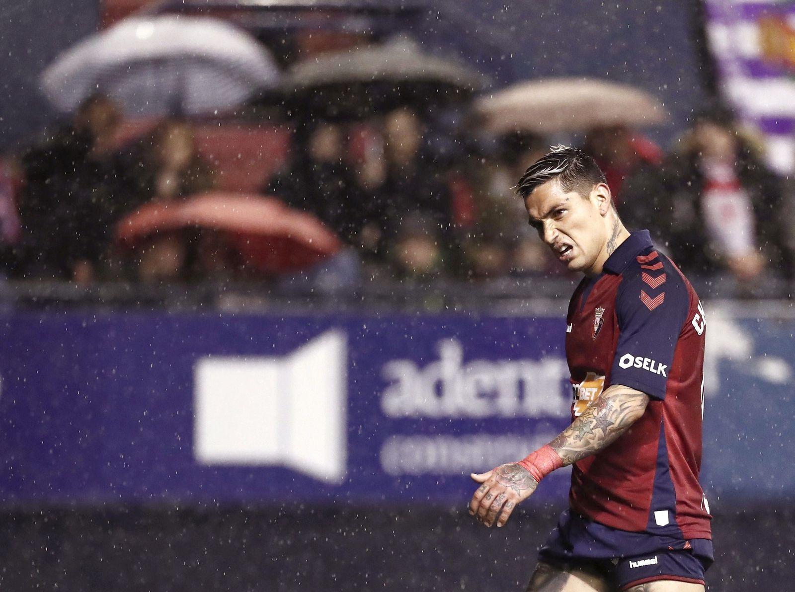 Osasuna vs Real Valladolid, Pamplona Navarra, Spain - 18 Jan 2020