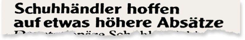 Aus der »Augsburger Allgemeinen«