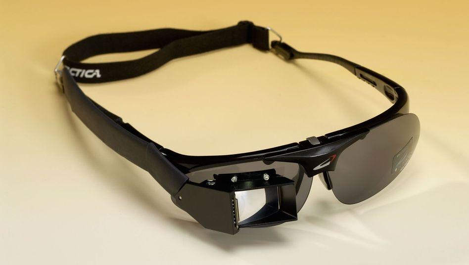 Forschungs-Cyberbrille eines Fraunhofer-Instituts: Bald auch von Google und Microsoft