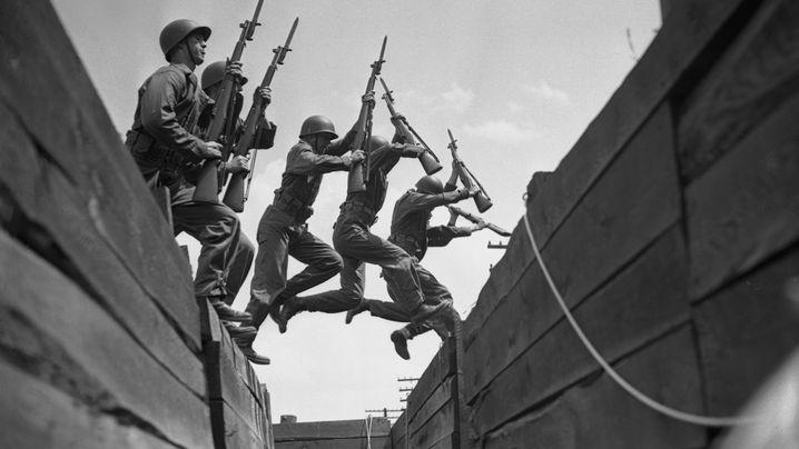 """US-Offizier John Raaen: """"Hey, dahinten ist Krieg, wollt ihr nicht mitmachen?"""""""