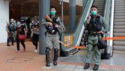 Polizei sichert Hongkongs Parlament