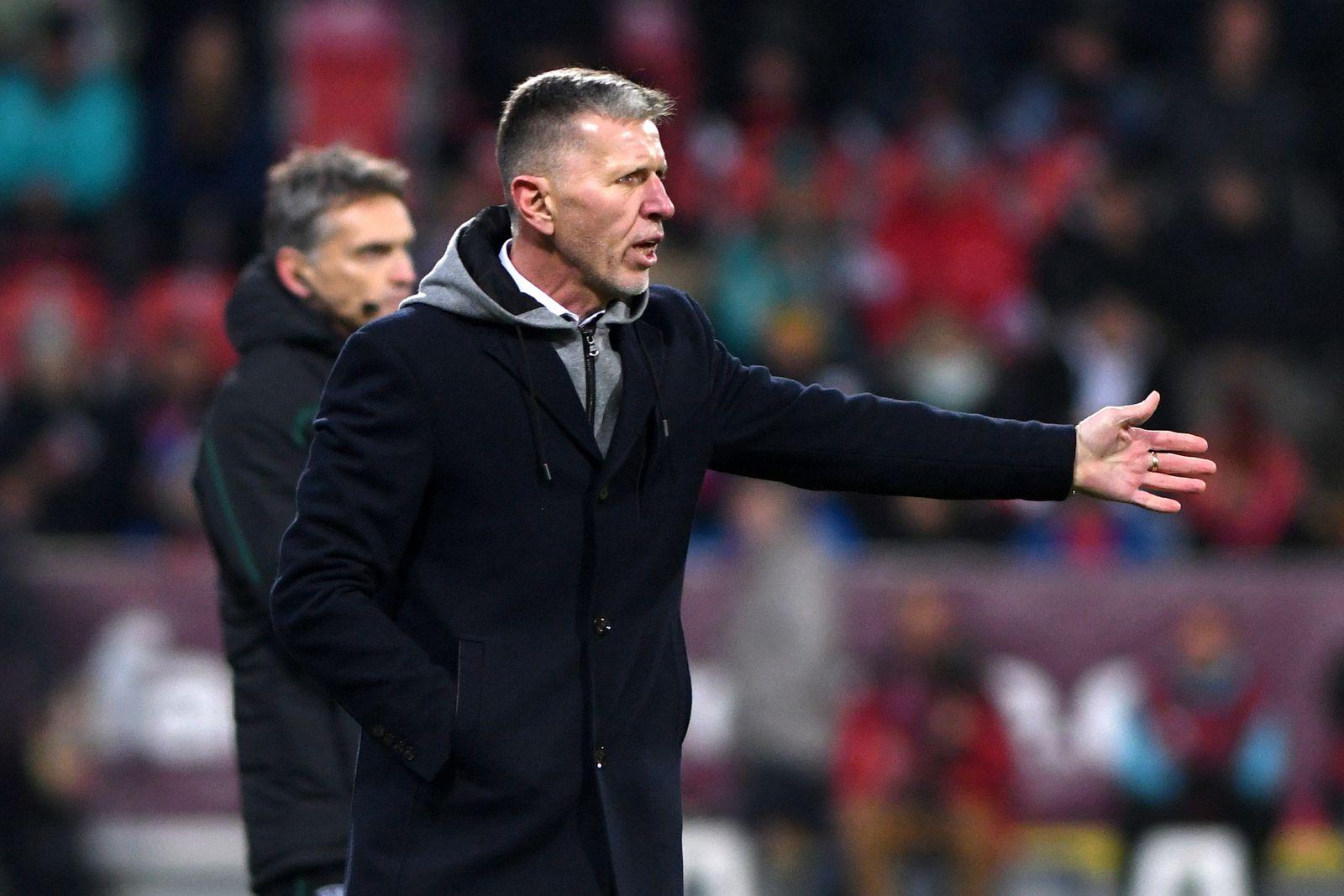 EUROPEAN UEFA QUALIFY EURO 2020, PILSEN 14-11-2019, CZECH REPUBLIC-KOSOVO 2-1, COACH JAROSLAV SILHAVY QUALIFICAZIONI EUR