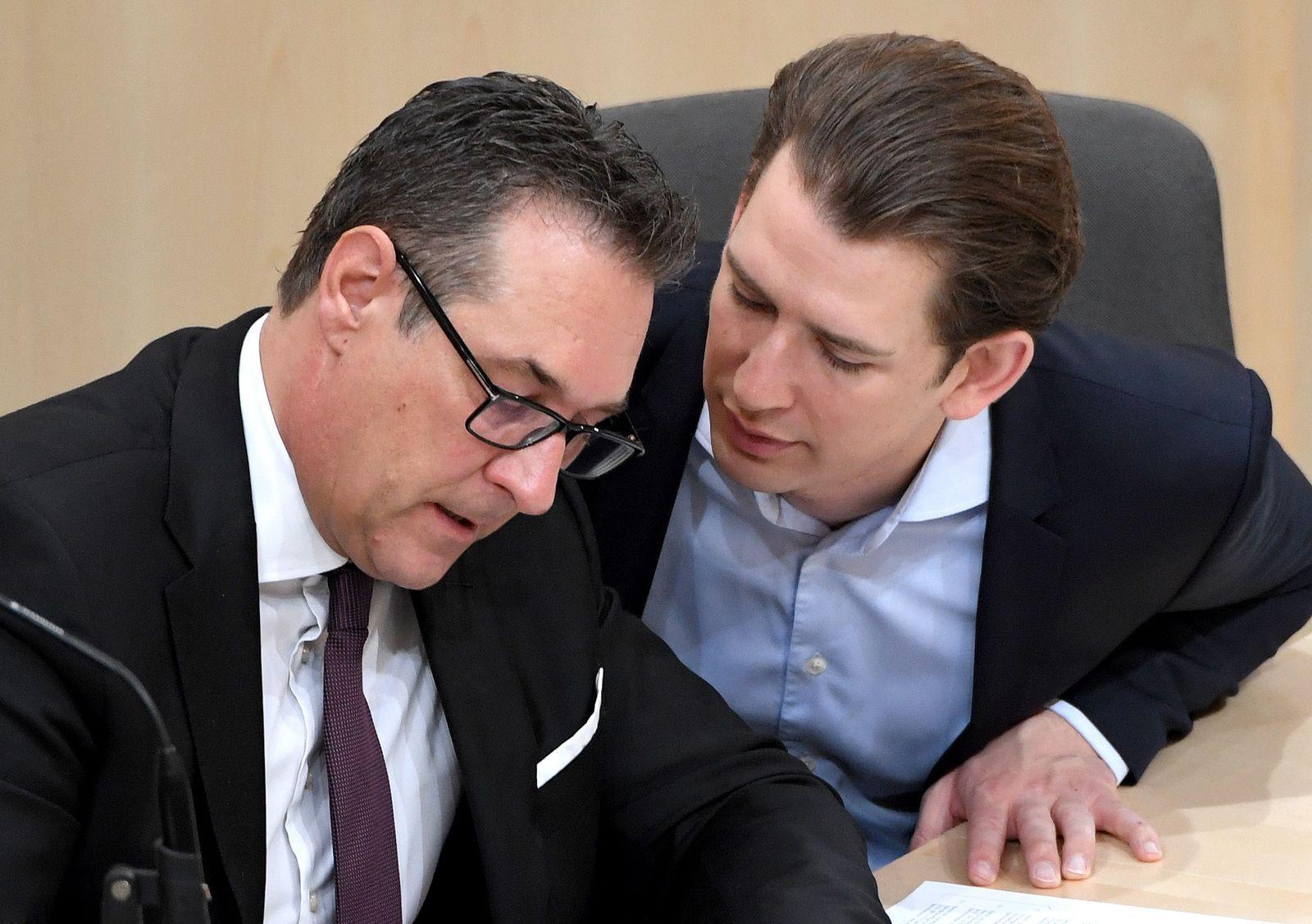 Nationalratsitzung in Österreich