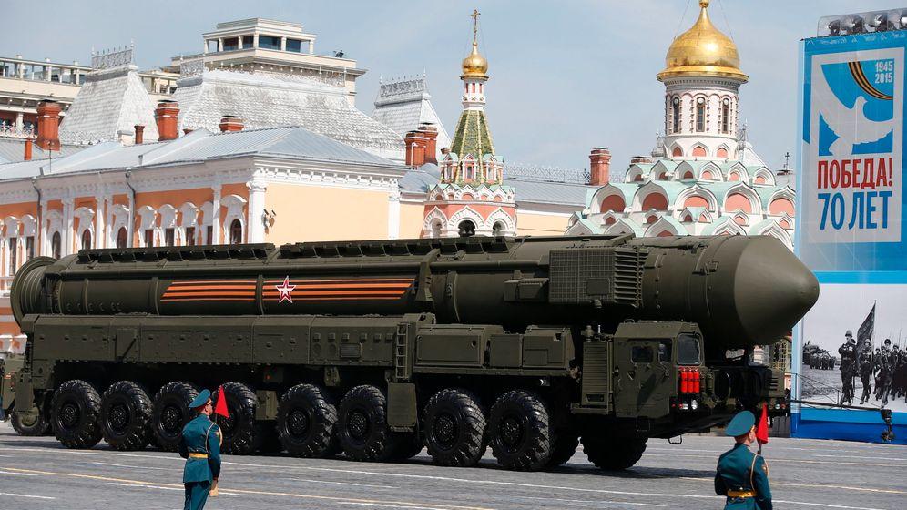 Kriegsgedenken in Moskau: Machtdemonstration nach Sowjet-Manier