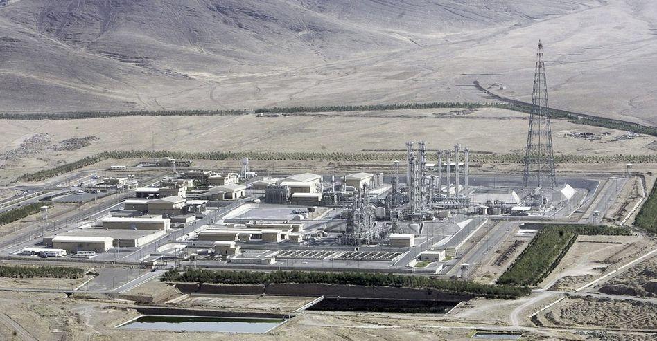 Iranisches Reaktorgelände in Arak: »Für eine Verwendung in Atomanlagen geeignet und vorgesehen«