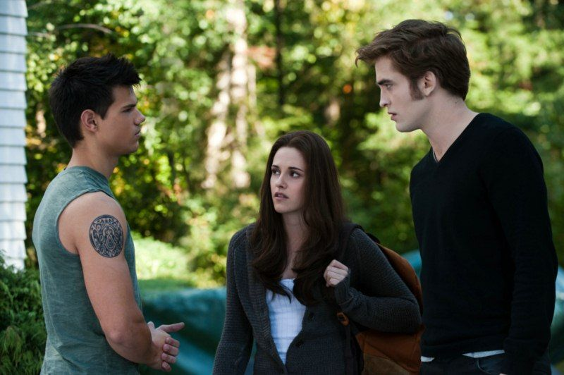 EINMALIGE VERWENDUNG Eclipse / Biss zum Abendrot / Twilight Saga / Taylor Lautner / Kristen Stewart / Robert Pattinson