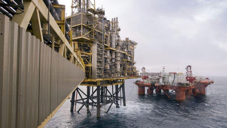 Shell-Plattform Shearwater: Aus Sicherheitsgründen evakuiert