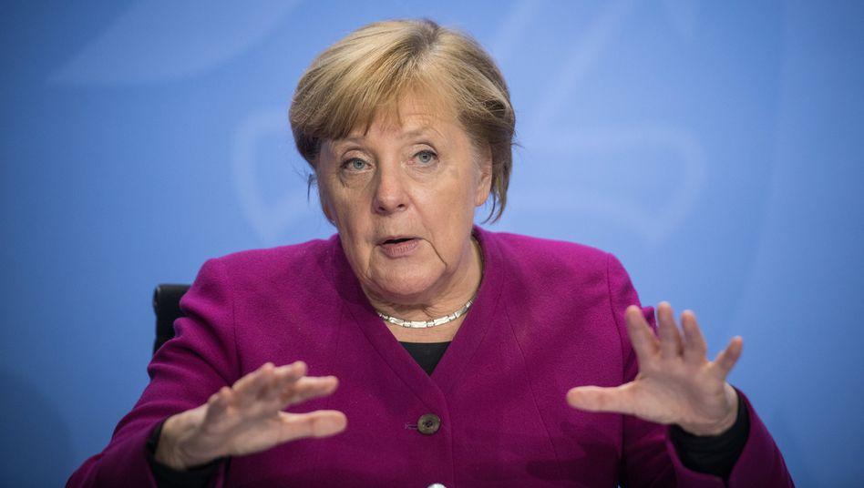 Bundeskanzlerin Angela Merkel: Es war immer ernst, aber jetzt wird es wieder richtig ernst
