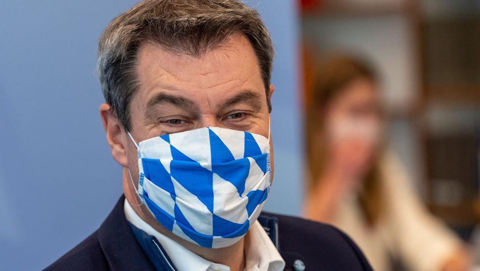 """Bayerischer Ministerpräsident Söder: """"Klar ist, es wird nicht einfach. Und klar ist, es wird auch nicht schön"""""""