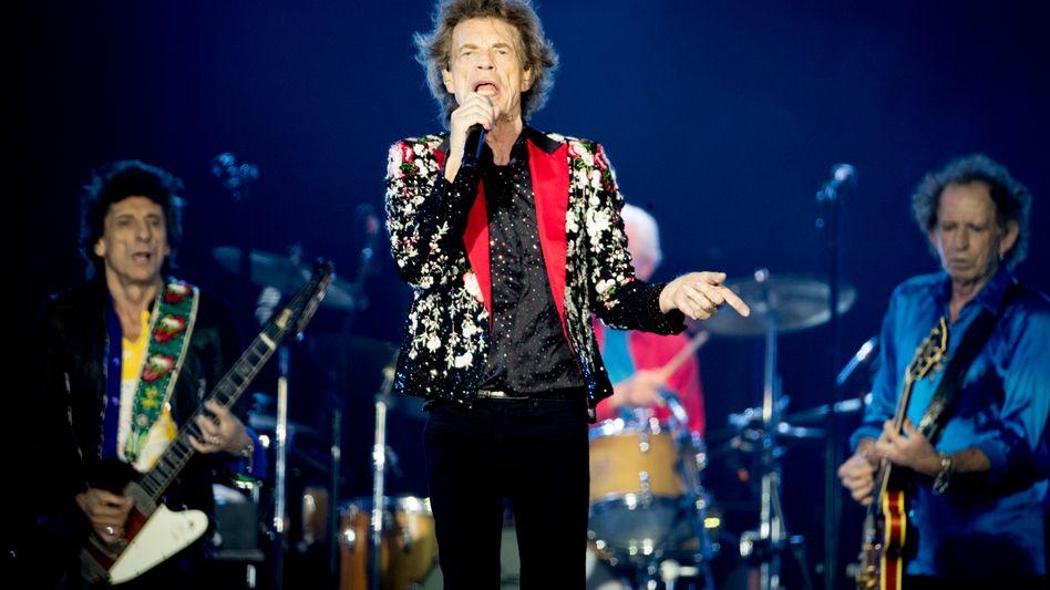 Rolling Stones (bei einem Auftritt in Miami 2019)
