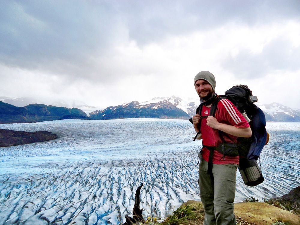 EINMALIGE VERWENDUNG Reiseblogger / Steve Hänisch