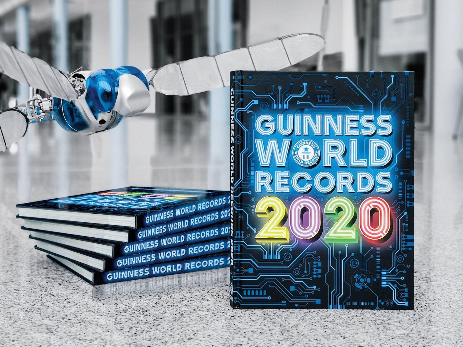 EINMALIGE VERWENDUNG Guiness-Buch der Rekorde / Guiness World Records 2020