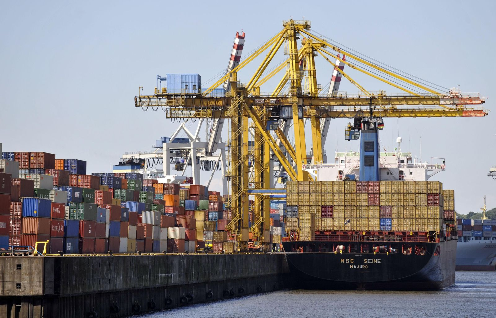 Export/ Container/ Hafen Hamburg