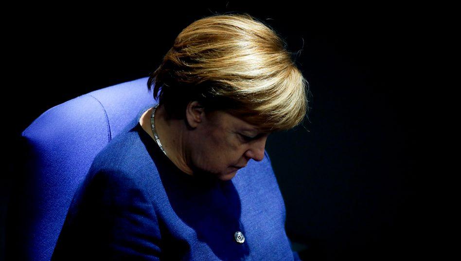 Bundeskanzlerin Angela Merkel: »Haben unser Ziel klarer vor Augen, immer klarer«