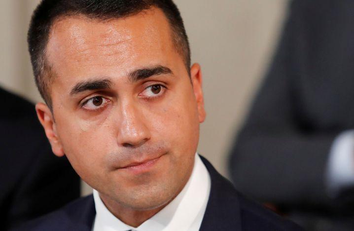 Fünf-Sterne-Chef Luigi Di Maio: Parteianhänger haben das letzte Wort