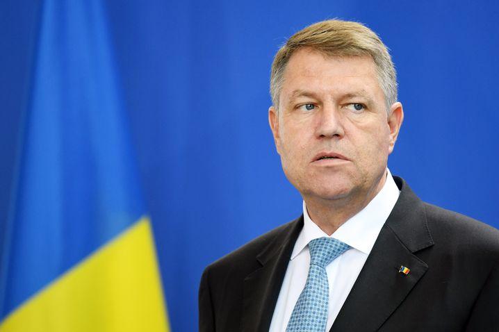 Rumäniens Präsident Klaus Johannis