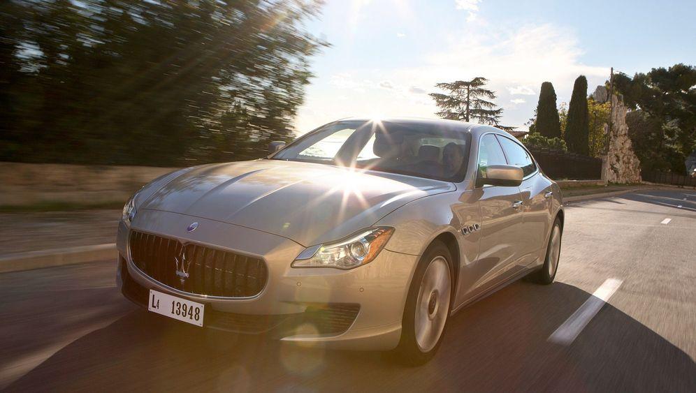 Autogramm Maserati Quattroporte: Geschmacksverirrung