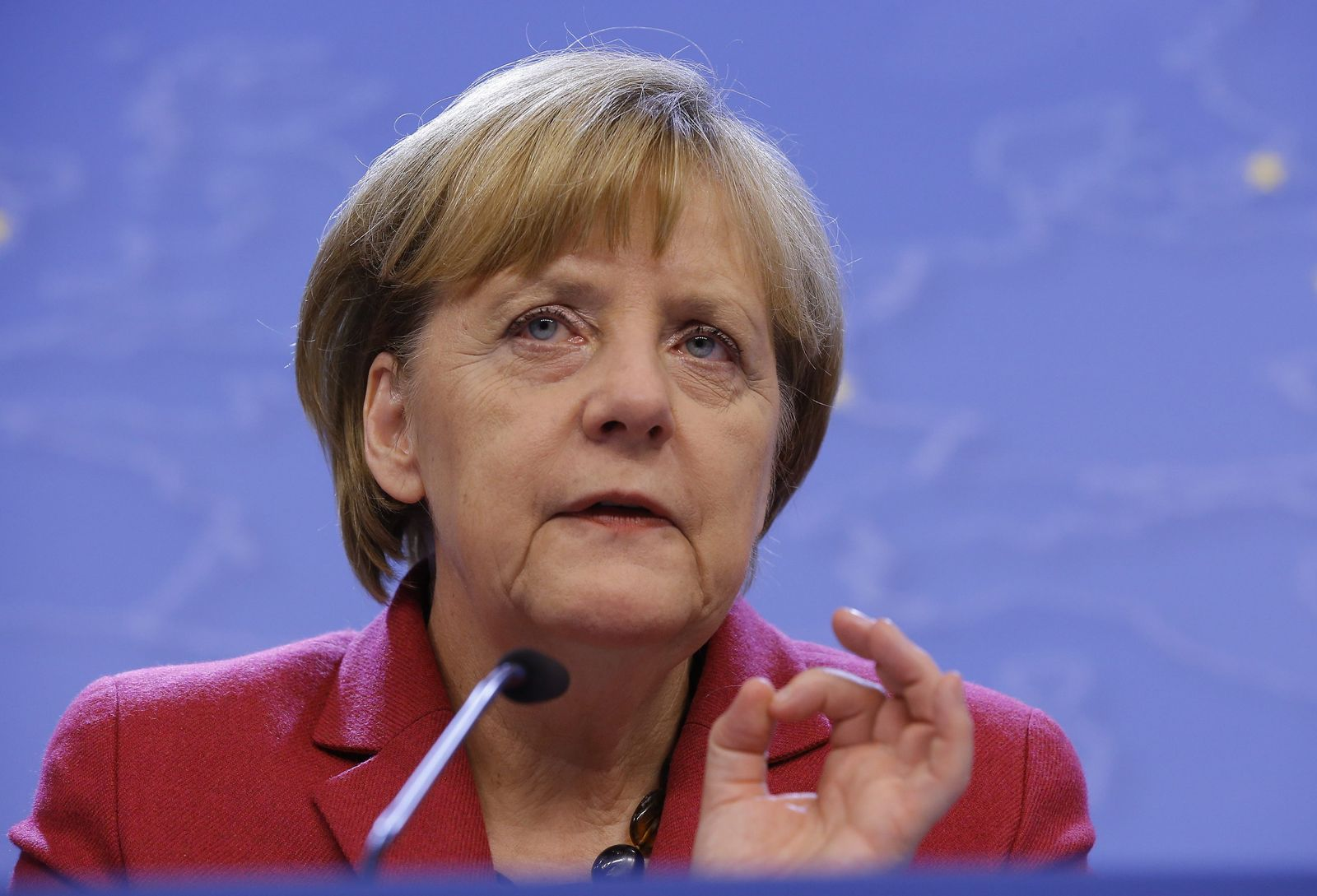 Angela Merkel Klimagipfel