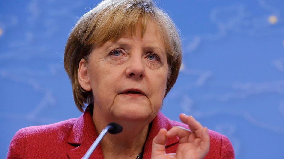 """Angela Merkel beim EU-Klimagipfel: """"Sehr zufrieden mit dem Fortschritt"""""""