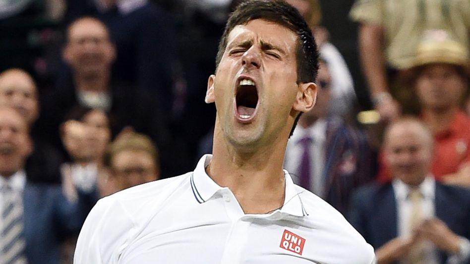 """Tennisprofi Djokovic: """"Es schmerzt noch ein wenig"""""""