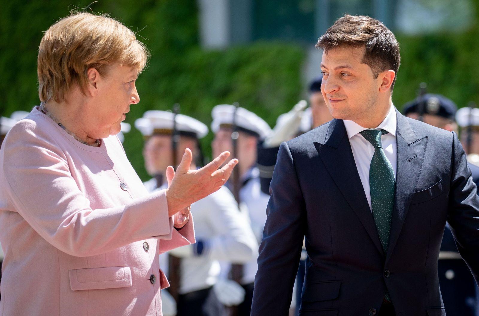 Merkel & Selenskyj