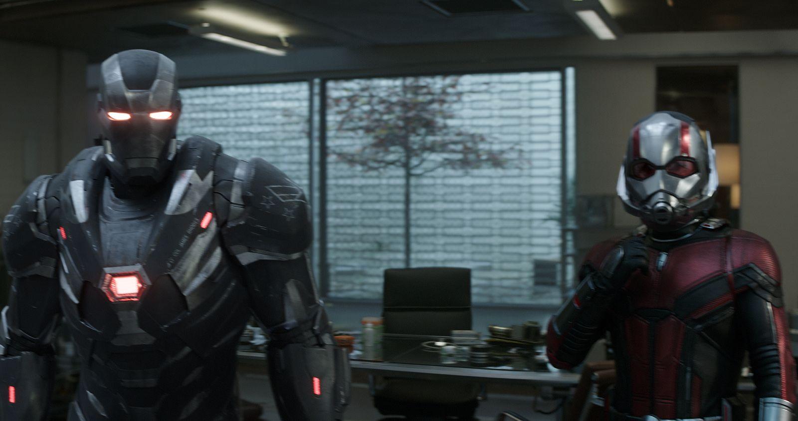 EINMALIGE VERWENDUNG Film / Avengers / Endgame / War Machine / Ant-Man / Marvel Studios