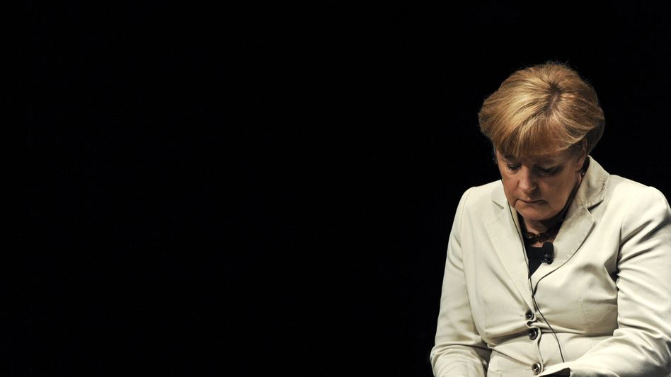 Chancellor Angela Merkel is in a bind.