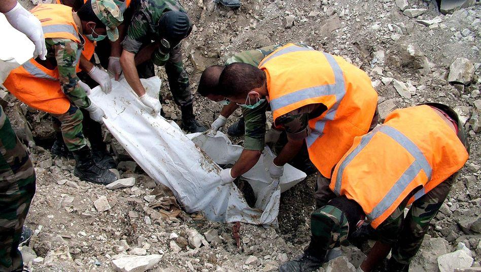 Massengrab in Latakia: Mindestens 190 Zivilisten wurden ermordet