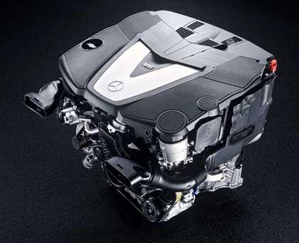 Mercedes-V6-Diesel: Einspritzdruck von bis zu 1600 bar
