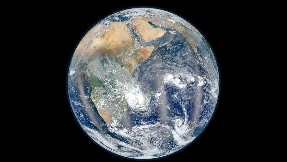 Blauer Planet: Olivin gleichmäßíg in den Meeren zu verteilen wäre extrem aufwendig