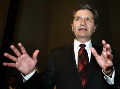 Baden-Württembergs Ministerpräsident Oettinger: Seiner Entschuldigung will er nichts hinzufügen