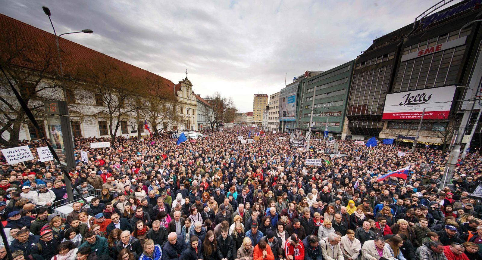 SLOVAKIA-POLITICS-PROTEST