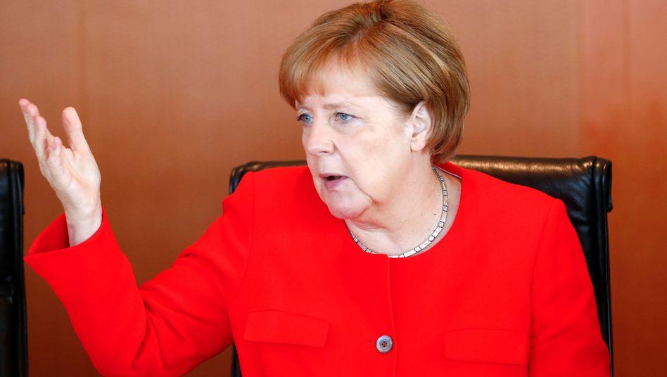 Kritik an Erdogan-Regierung: Merkel nennt Haft für Menschenrechtler ungerechtfertigt