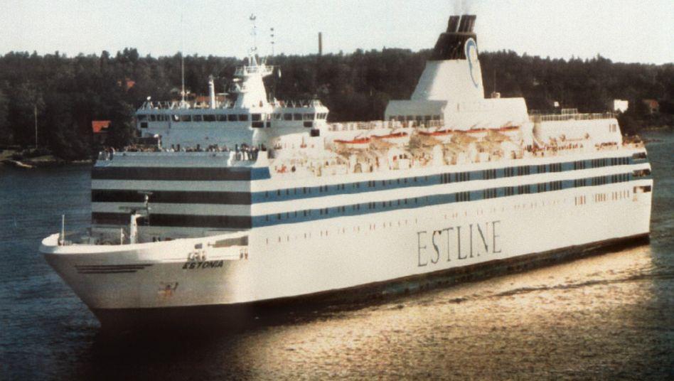 Die Fähre »Estonia« (Archivbild): Das Schiff sank 1994 auf dem Weg von Tallinn nach Stockholm