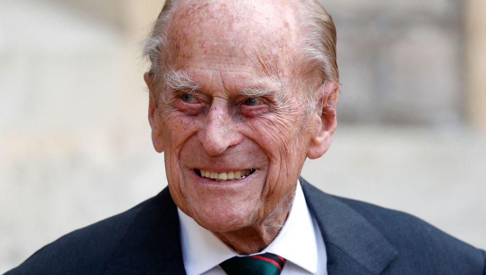 Prinz Philip klagte über Unwohlsein und ist bereits seit sechs Nächten im Krankenhaus