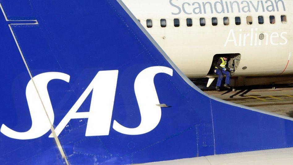 SAS-Flugzeuge: Extra-Gehalt als Belohnung für Lohnkürzung