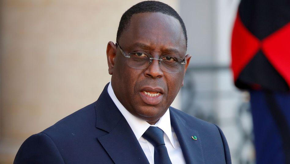 Macky Sall, Präsident den Senegal