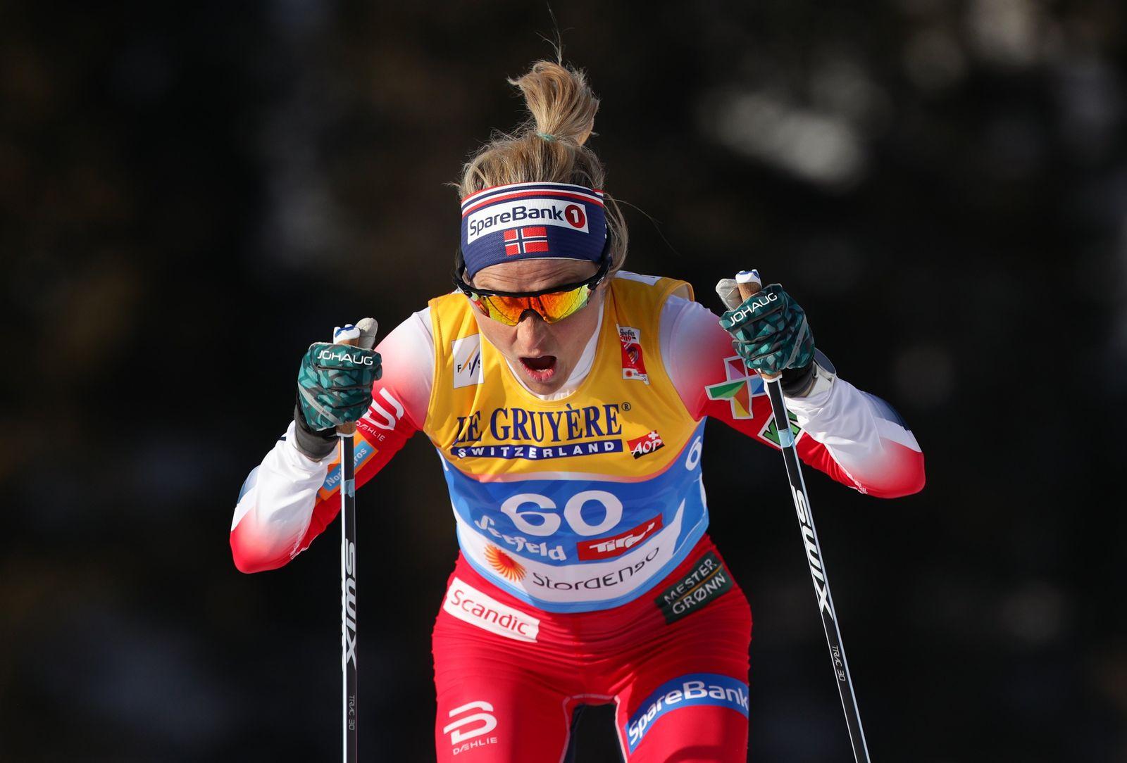 Therese Johaug Langlauf