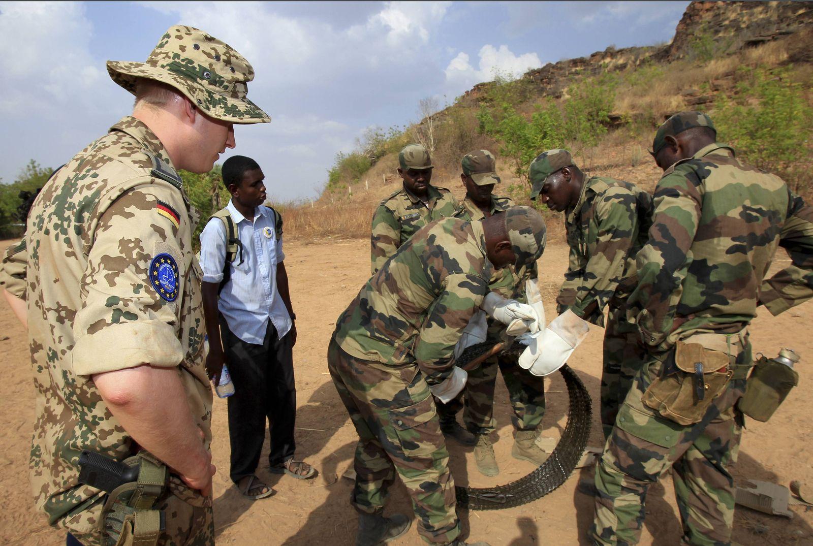 EINMALIGE VERWENDUNG Bundeswehr Mali
