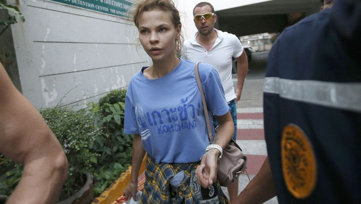 Escort-Girl Waschukewitsch: Zeugin hinter Gittern