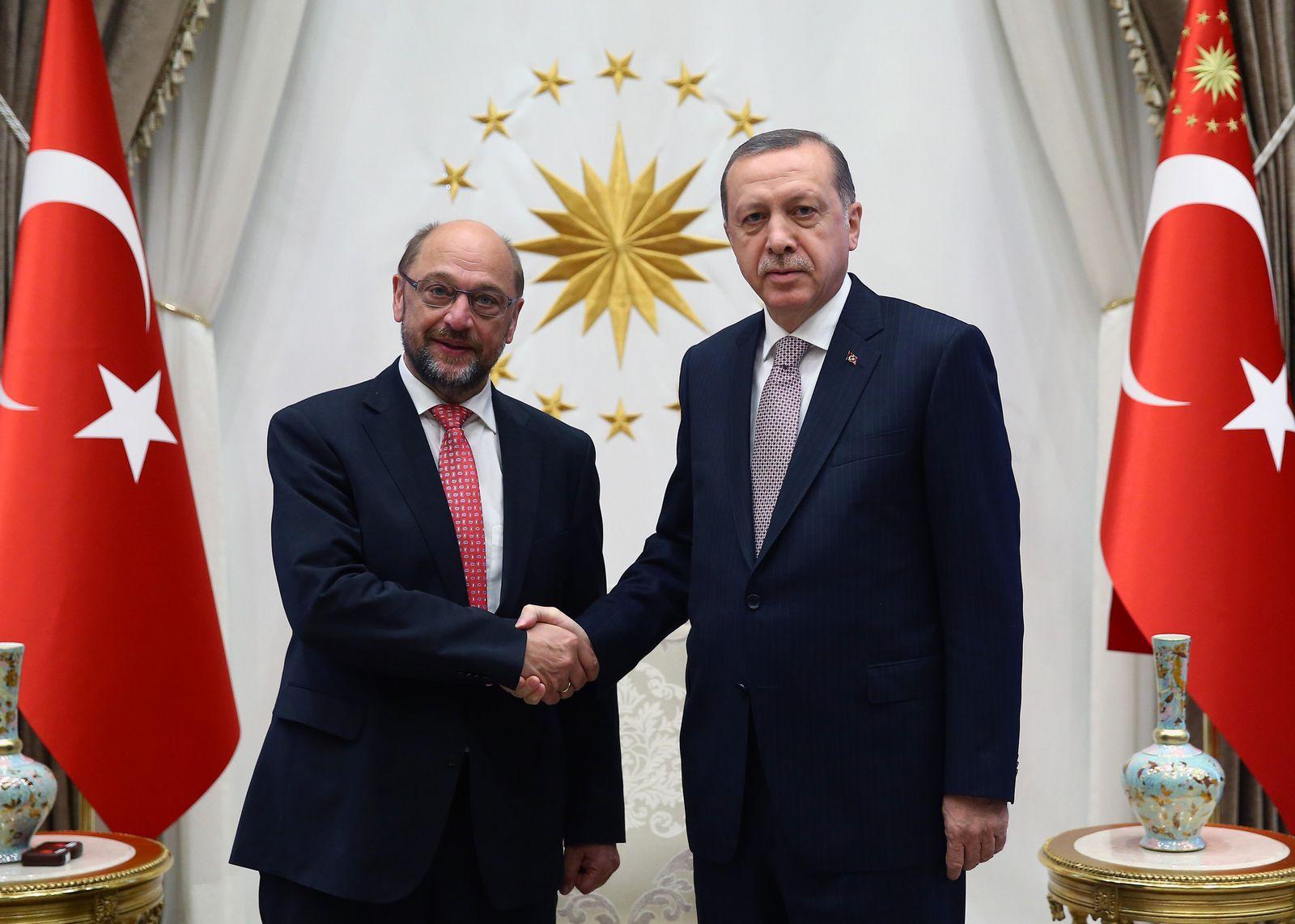 Martin Schulz / Recep Tayyip Erdogan
