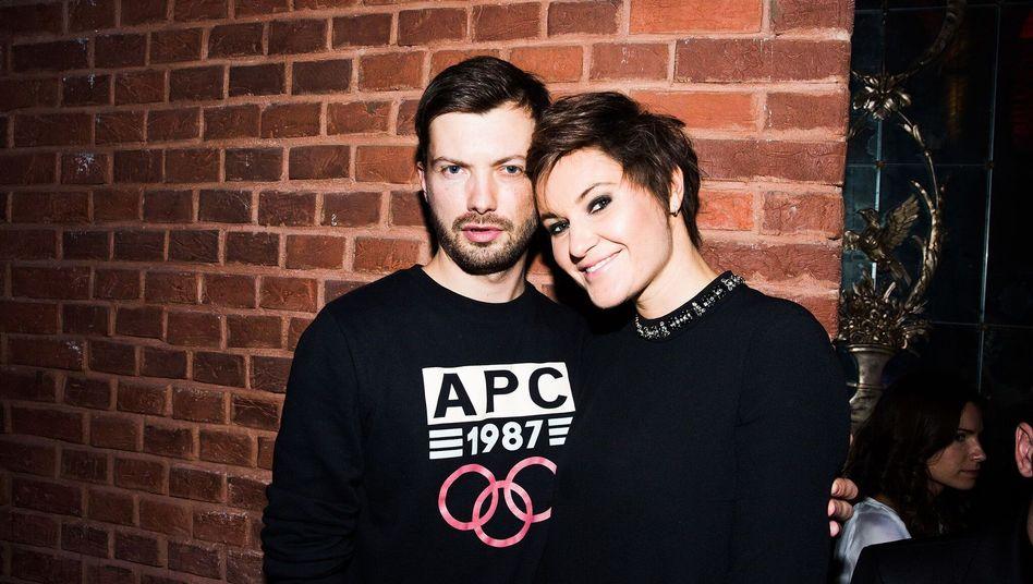 Roman Mazurenko und Eugenia Kuyda