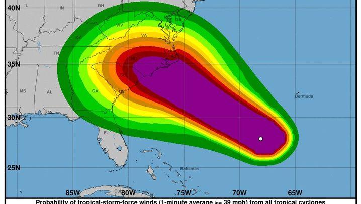 """Hurrikan """"Florence"""": Auf dem Weg zur US-Ostküste"""