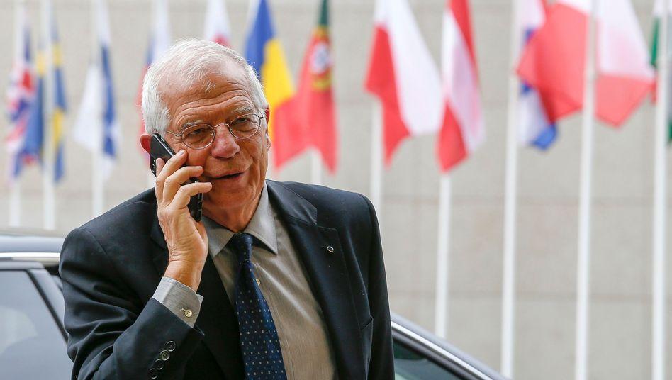 Josep Borrell Fontelles in Brüssel (Archivbild)