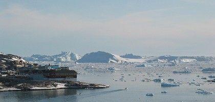 Ilulissat ice fjord, western Greenland.
