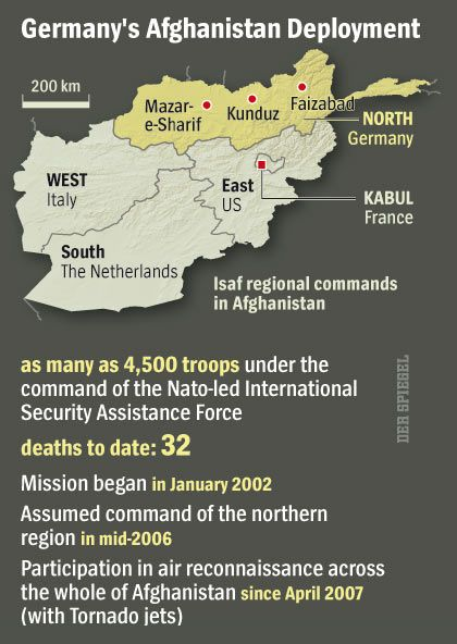 Graphic: Germany's Afghanistan Deployment