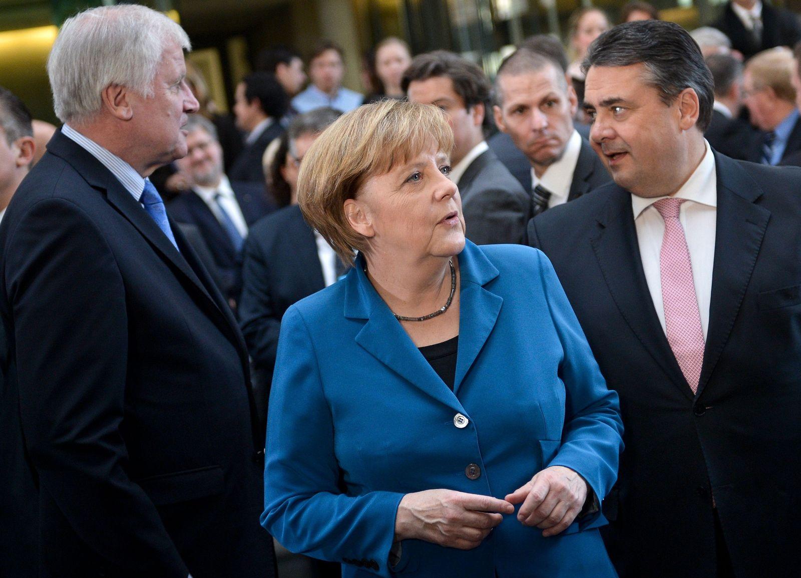 Seehofer/ Merkel/ Gabriel