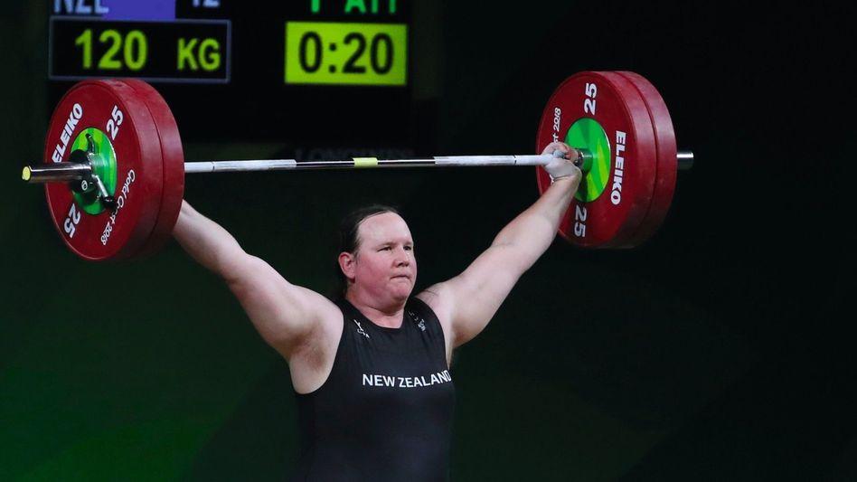 Gewichtheberin Hubbard im australischen Gold Coast 2018: »Schlicht an die Regeln gehalten«